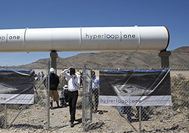 美國「維珍超級高鐵一號」(Virgin Hyperloop One)
