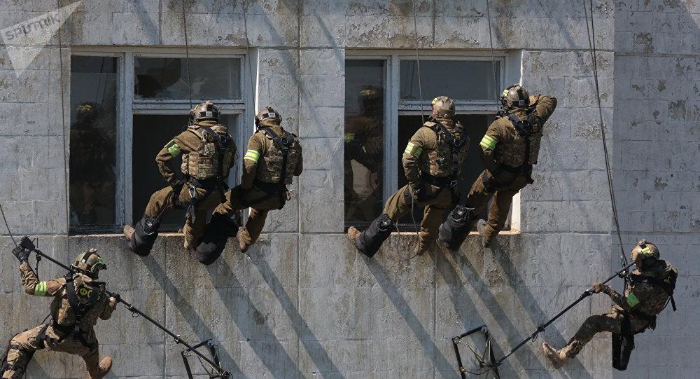 俄特种兵已抵达中国参加东盟国家及其伙伴国反恐演习
