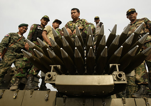 柬埔寨「揭秘」柬中軍事合作