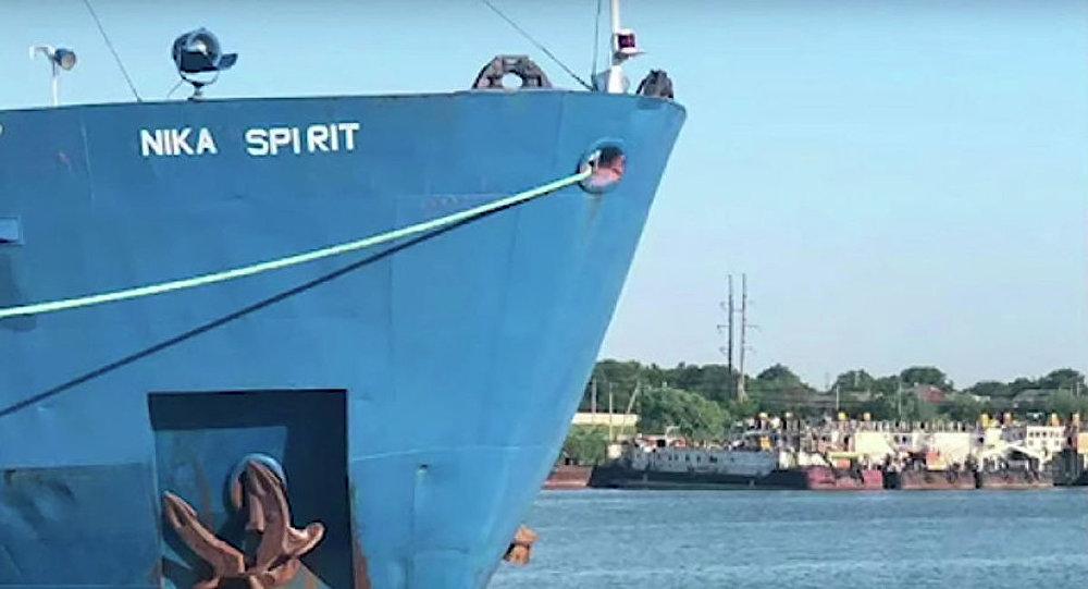 「NIKA SPIRIT 」號油輪