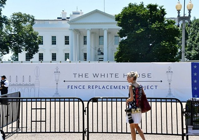白宫将增加围栏高度并安装入侵报警系统