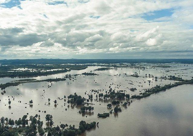 阿穆爾州洪水