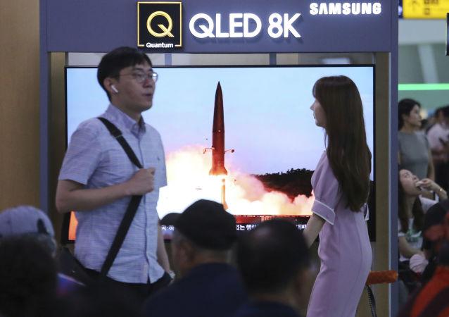 專家:朝鮮的新型潛射彈道導彈並非短程導彈