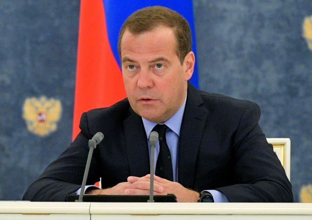 俄羅斯總理梅德韋傑夫