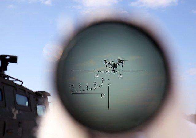 俄電子戰部隊演練防禦無人機襲擊軍用機場