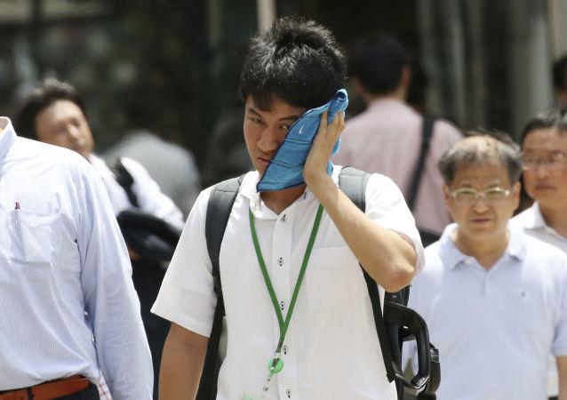 日本酷熱致一周7人死亡逾 7000人中暑