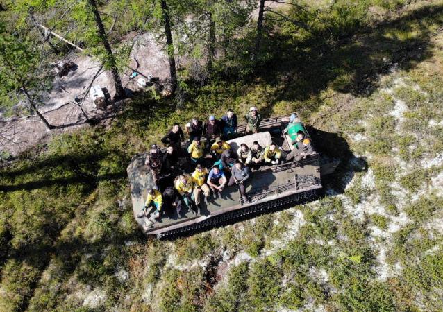 俄航空護林局:俄森林火災面積一天內減半至4.4萬公頃