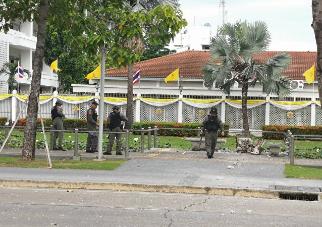 曼谷中心区域发生5起爆炸 2人受伤