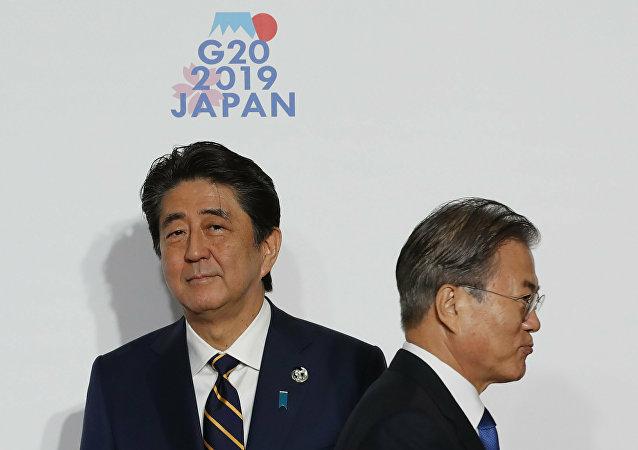 """韩国将把日本移出贸易""""白色清单"""""""
