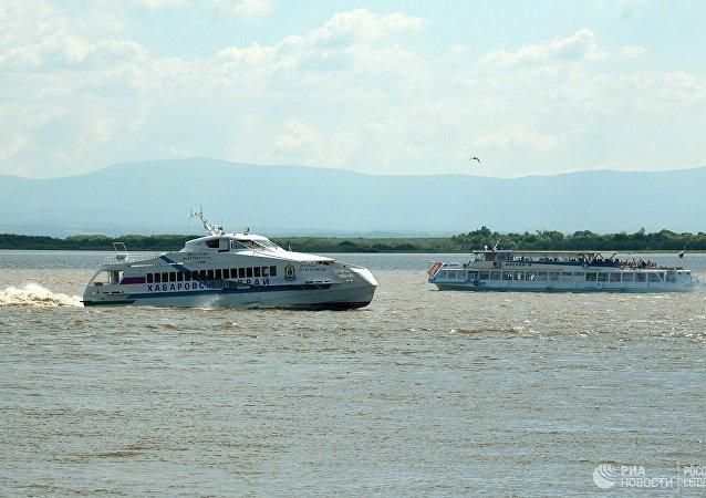 哈巴罗夫斯克至抚远内燃机船客运将在洪水期间停航