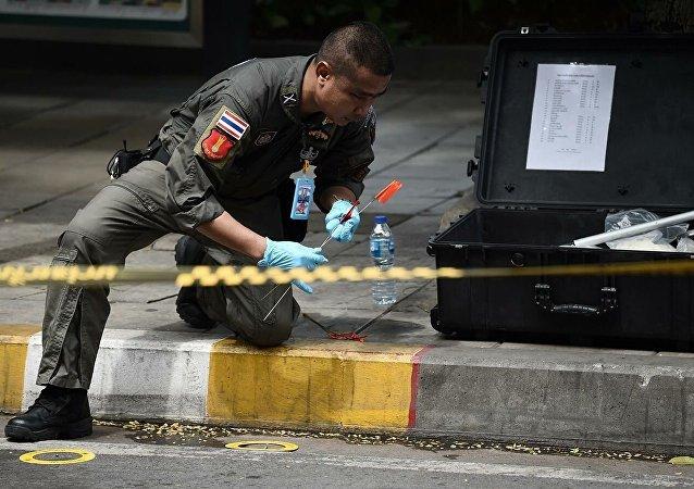 曼谷连环爆炸事件伤者已增至3人
