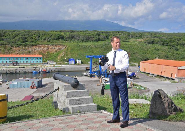 俄总理责成有关部门促进千岛群岛商业发展
