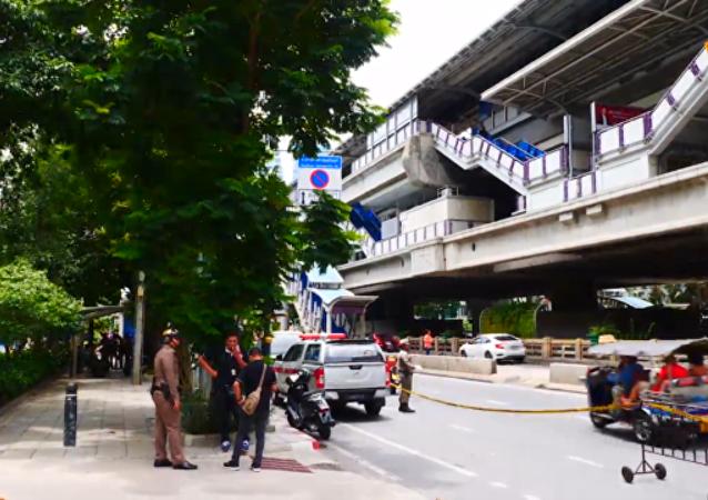 曼谷發生七起爆炸