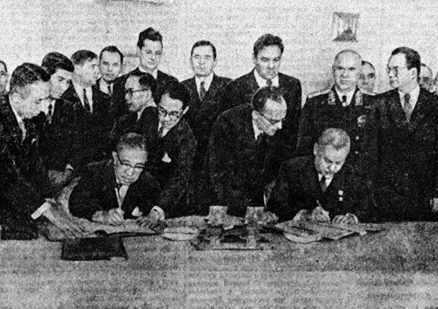外媒:日本在1956年同蘇聯簽署的宣言中放棄反核條款