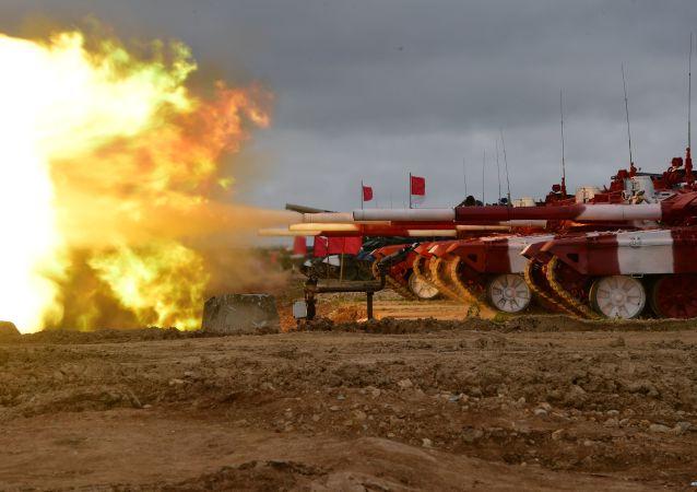 俄軍在2019年坦克兩項比賽中打破2017年紀錄