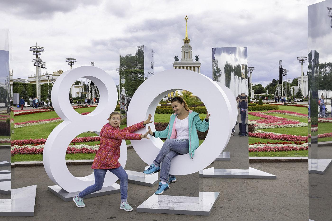 焕然一新的全俄国民经济成就展览馆成为最受莫斯科人欢迎的全家休闲的地方之一。
