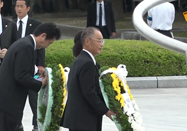 日本悼念广岛原子弹轰炸遇难者