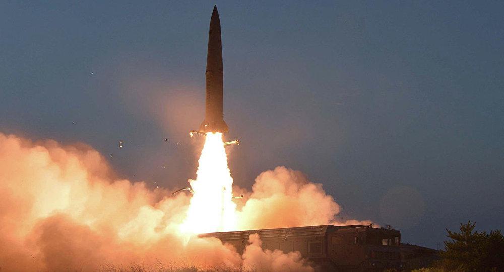 朝鲜在周六发射的导弹
