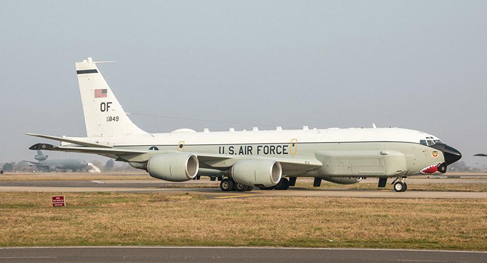 美空军侦察机绕飞加里宁格勒州一圈