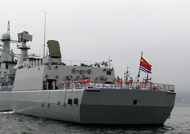 中国海军或在波斯湾彰显海军军旗