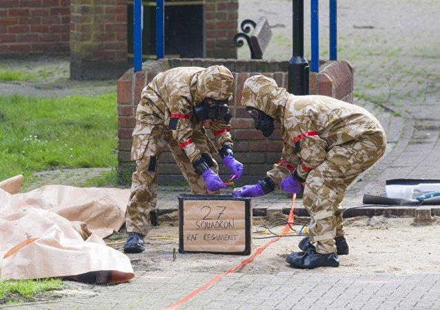 英国警方:索尔兹伯里又有一名警察被检出血液中含有神经毒剂残留