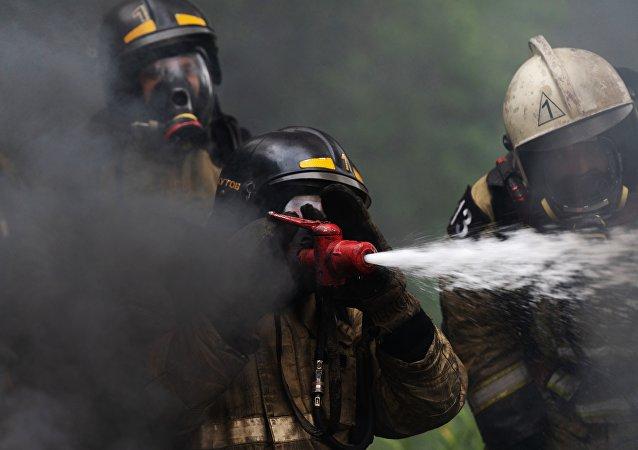 俄下諾夫哥羅德一工廠由於短路發生火災致一人受傷
