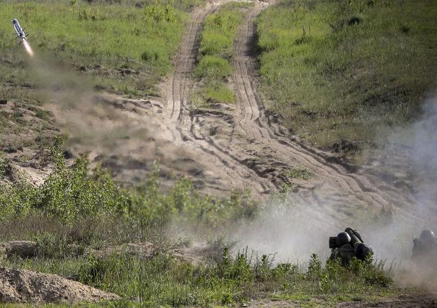 美國務院:美國計劃向烏克蘭增供「標槍」反坦克導彈系統