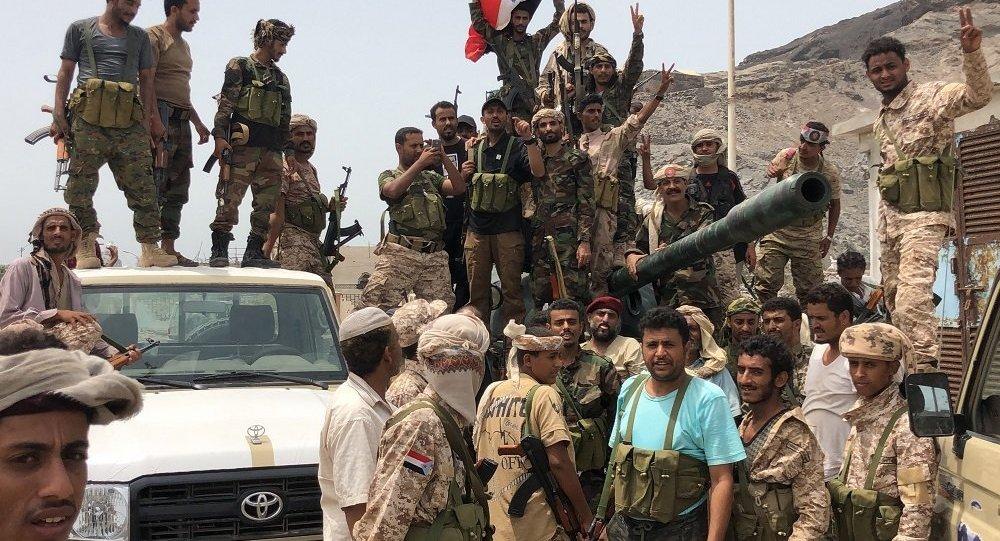 也门南方过渡委员会支持者