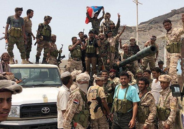 也門南方過渡委員會支持者