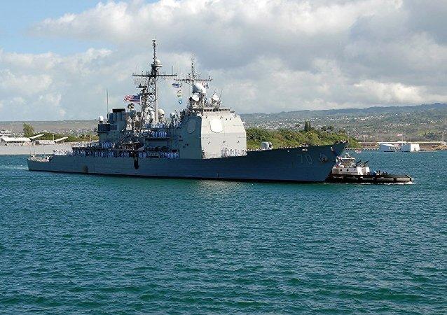 """""""伊利湖号""""导弹巡洋舰"""