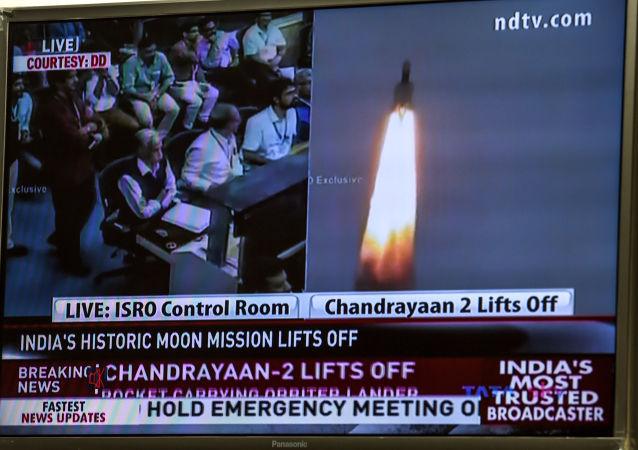 印度空間研究組織:月船-2號月球探測器離開地球軌道前往月球