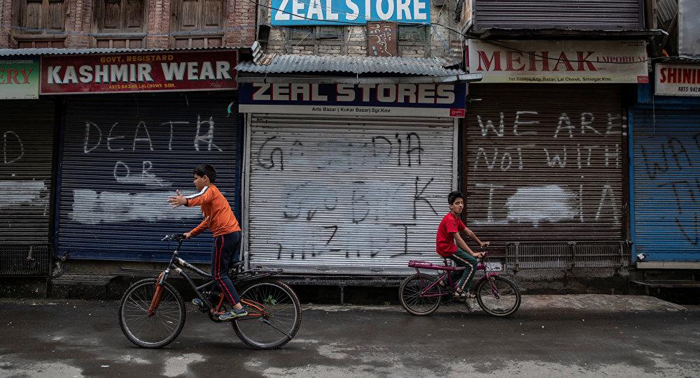 巴基斯坦就克什米尔最近的冲突对印度表示抗议