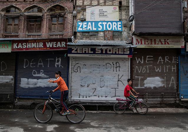 巴基斯坦就克什米爾最近的衝突對印度表示抗議