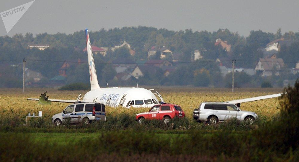 A321客机在莫斯科郊区硬着陆后共55人就医