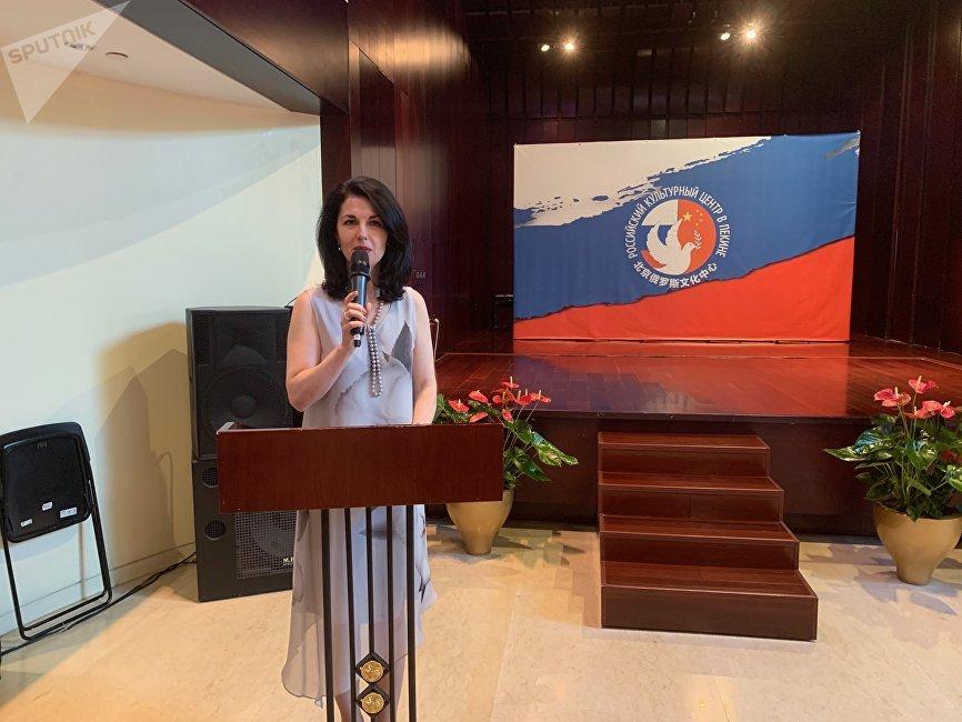 俄侨和国际人文合作署驻华代表处主任梅利尼科娃