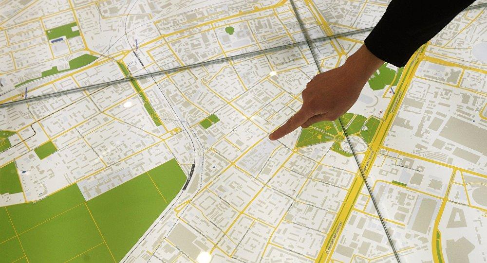 莫斯科推出俄英中文新版首都地圖