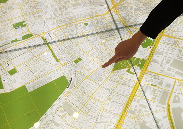 莫斯科推出俄英中文新版首都地图
