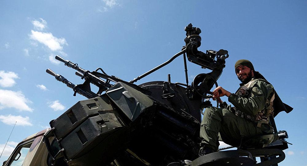 哈夫塔尔的军队表示袭击祖瓦拉机场的目标是土耳其无人机