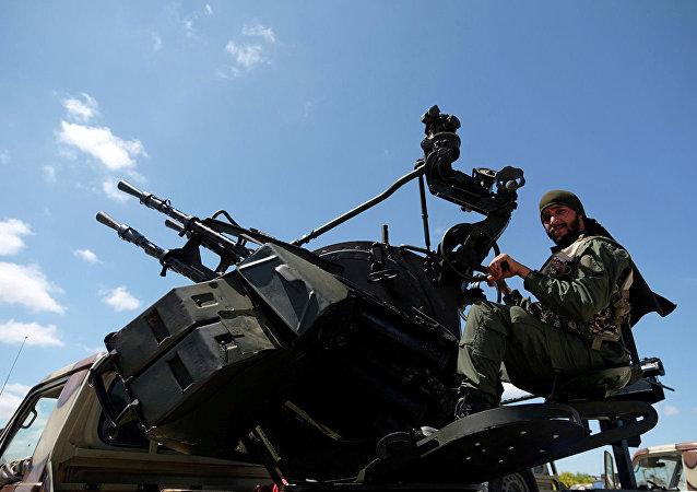 哈夫塔爾的軍隊表示襲擊祖瓦拉機場的目標是土耳其無人機