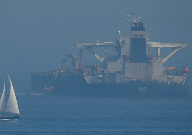 直布罗陀释放7月初扣押的伊朗油轮