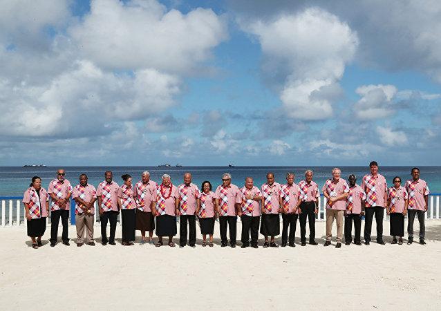 圖瓦盧峰會動搖澳大利亞在大洋洲對抗中國的企圖
