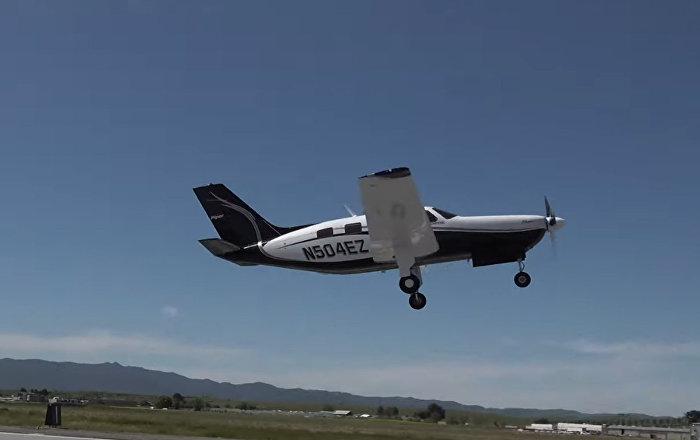 美国飞机制造商展示全球最大环保型飞机