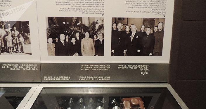 鄧小平故居陳列館館內展品