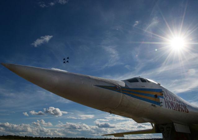 圖-160戰略轟炸機(資料圖片)