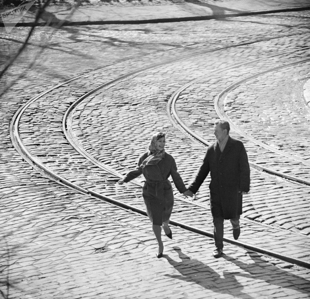 恋人。1968年。