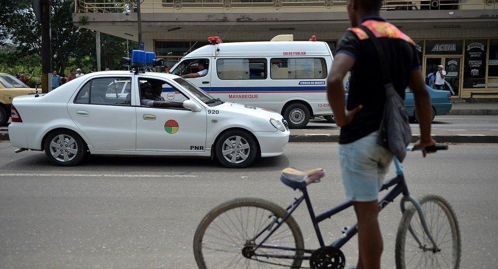 古巴救護車(資料圖片)
