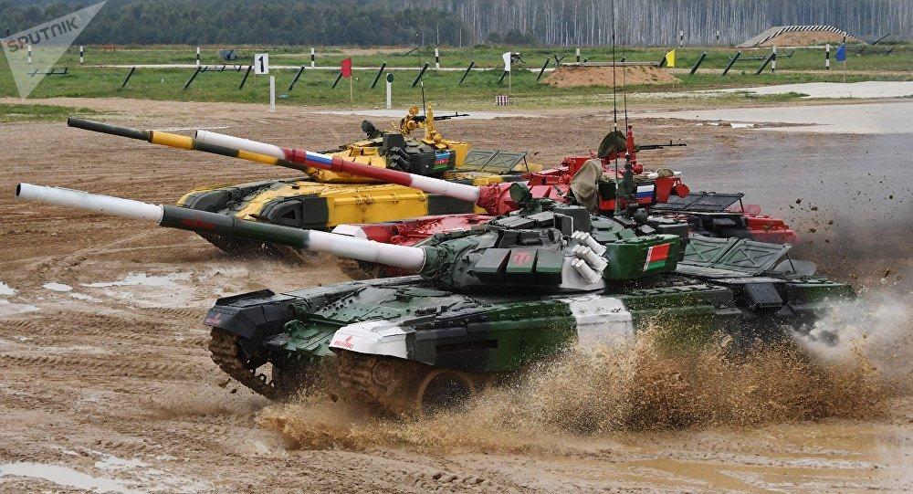 「國際軍事比賽-2019」閉幕式在莫斯科州舉行