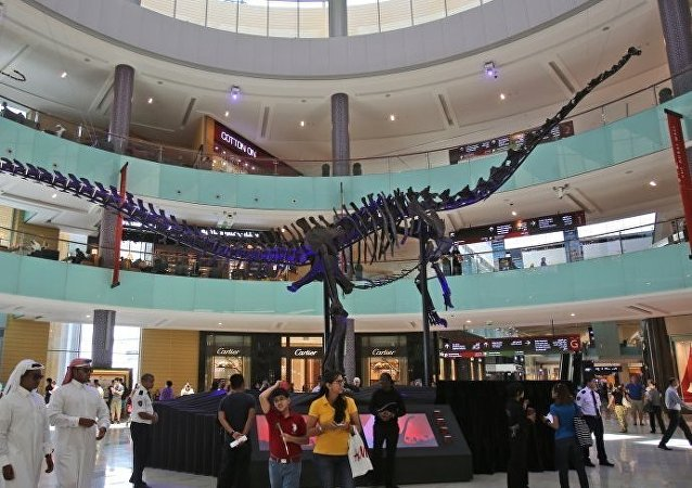 媒體:1.55億年前的恐龍骨架將出現在阿聯酋拍賣會上