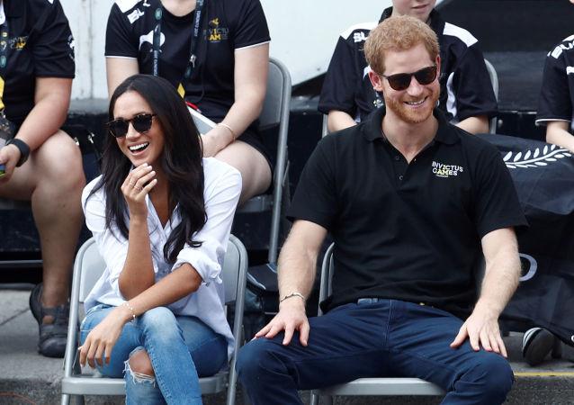 梅根·马克尔与哈里王子