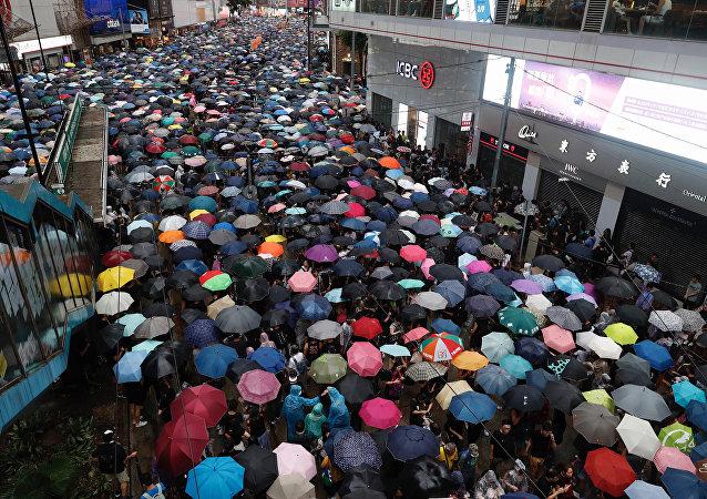 中国国台办:正告民进党当局停止破坏香港特区的法治